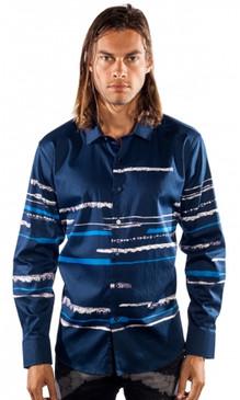 JPJ Striped Navy Shirt