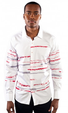 JPJ Striped White Shirt
