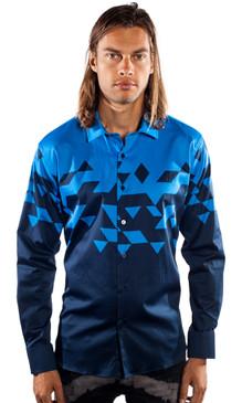 JPJ Triangulate Blue Shirt