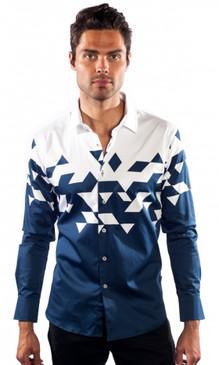 JPJ Triangulate White Shirt