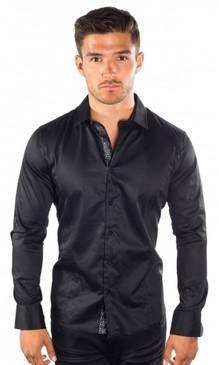 JPJ Silk Black Shirt