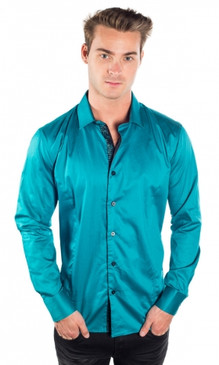 JPJ Silk Teal Shirt