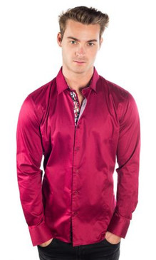 JPJ Silk Wine Shirt