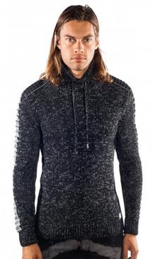 JPJ Glitch Black Sweater