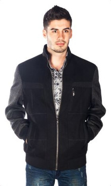 JPJ Santos Black Men's Jacket