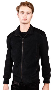 JPJ Cafe Men's Black Jacket