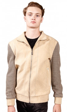 JPJ Crow Men's Beige Blazer Jacket