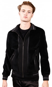 JPJ Racer Men's Black Blazer Jacket