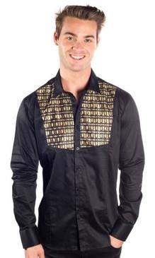 JPJ Rodeo Black Gold Shirt