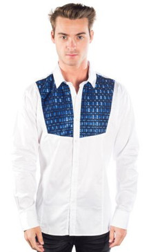 JPJ Rodeo White Royal Shirt