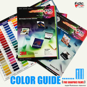 FDC Sign Vinyl Film Color Guide