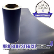 "NRD Blue Stencil Material 10"" Wide"