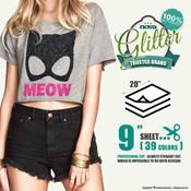 """Nova Glitter - 20"""" x 9"""" Sheet"""