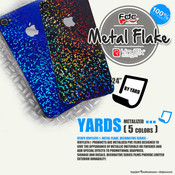 "RTape VinylEfx® Metal Flake Decorative Vinyl - FDC 2824 - 24"" wide BY YARD"