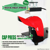 NOVA CAP Heat Press Machine