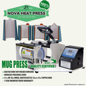 NOVA MUG Commercial 4 IN 1 Heat Press Machine
