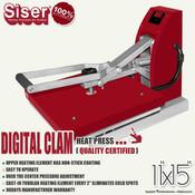 "SISER 11""x15"" DIGITAL CLAM Heat Press"