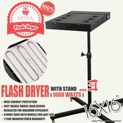 "NOVA 16""x16"" FLASH DRYER with Stand"