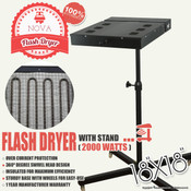 "NOVA 18""x18"" FLASH DRYER with Stand"