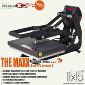 "STAHLS' The MAXX® Clam Heat Press 11""x15"""