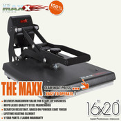 "STAHLS' The MAXX® Clam Heat Press 16""x20"""