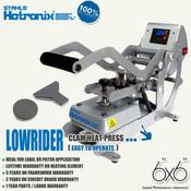 """STAHLS' Hotronix® LOWRIDER Heat Press 6""""x6"""""""