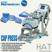 STAHLS' Hotronix® AUTO OPEN CAP Heat Press Machine