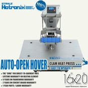 "STAHLS' Hotronix® HOVER™ Heat Press 16""x20"""