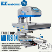 "STAHLS' Hotronix® AIR FUSION™ Heat Press 16""x20"" - Table Top"