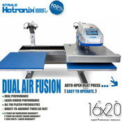 "STAHLS' Hotronix® DUAL AIR FUSION™ Heat Press 16""x20"""