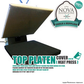 Heat Press Top Platen Cover