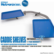 Stahls' Hotronix® Heat Press Caddie™ Shelves