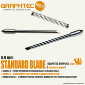 GRAPHTEC Vinyl Cutters 0.9mm Blade - Standard and 60° for Tint Film