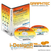 Graphtec i-DesignR® Series Rhinestone Fonts - Vol. 1