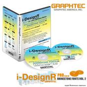 Graphtec i-DesignR® Series Rhinestone Fonts - Vol. 2