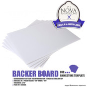 Backer Board for Rhinestone Template