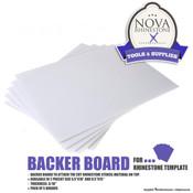 Backer Board for Rhinestone Template