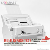 "Sawgrass Virtuoso SG400 Multi BYPASS TRAY for Larger Format (8.5""x51"")"