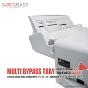 """Sawgrass Virtuoso SG800 Multi BYPASS TRAY for Larger Format (13""""x19"""")"""
