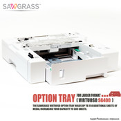 Sawgrass Virtuoso SG400 OPTION TRAY