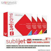 Sawgrass SubliJet-HD Sublimaton Ink Cartridges for SG400 / SG800