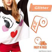 Siser Glitter HTV - All Sizes - FAST N FREE