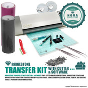 Rhinestone Transfer Kit with Cutters and Software