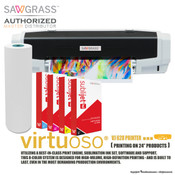 "Sawgrass Virtuoso 25"" VJ 628 - Large Format Complete Sublimation PRINTER KIT"