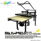 "Geo Knight MAXI PRESS Heat Press 32""x42"""