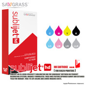 Sawgrass SubliJet-HD SG VJ 628 Ink Cartridges