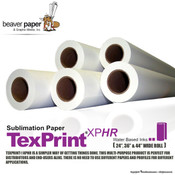 TexPrint XPHR Sublimation Paper Rolls