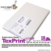 TexPrint XPHR Sublimation Paper - Pack of 110 Sheets