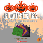 """Siser Glitter & Holographic HALLOWEEN Special Pack in 20""""x12"""" - FAST N FREE"""