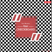 Siser EasyPatterns - Checkerboard Black & White